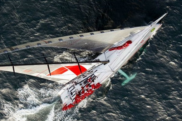 WILD OATS XI, sails towards a 4th line honours victory - Photo: ROLEX/Daniel Forster