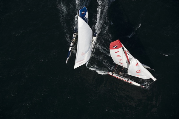 Red Bull Extreme Sailing, Luna Rossa, Air - © Lloyd Images
