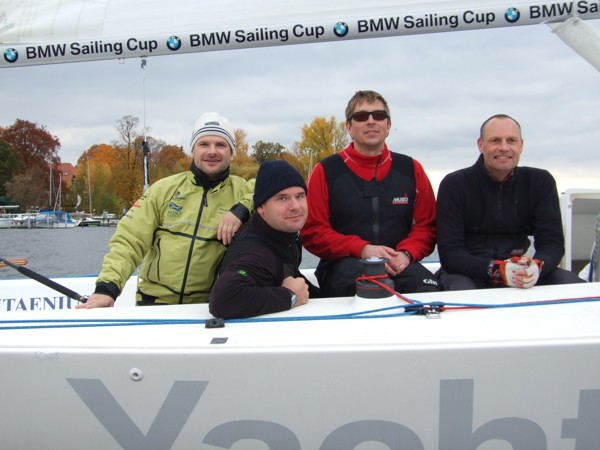 Team Meister beim BMW Berlin Match Race 2009 - Photocopyright: SailingAnarchy.de
