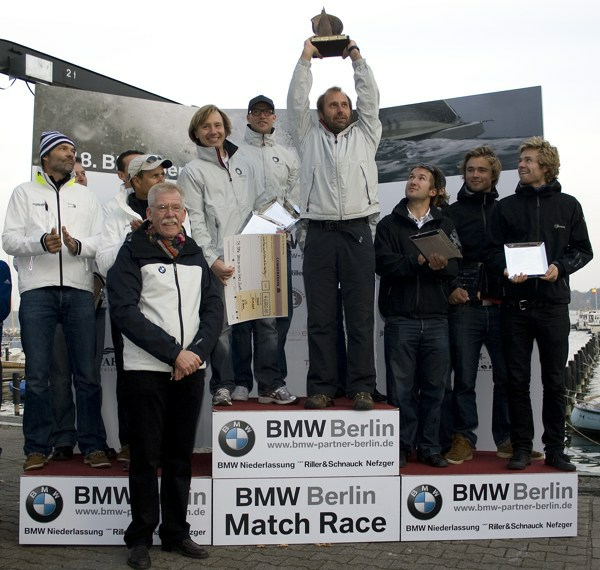 Hansen gewinnt BMW Berlin Match Race 2009 - Photocopyright: VSaW