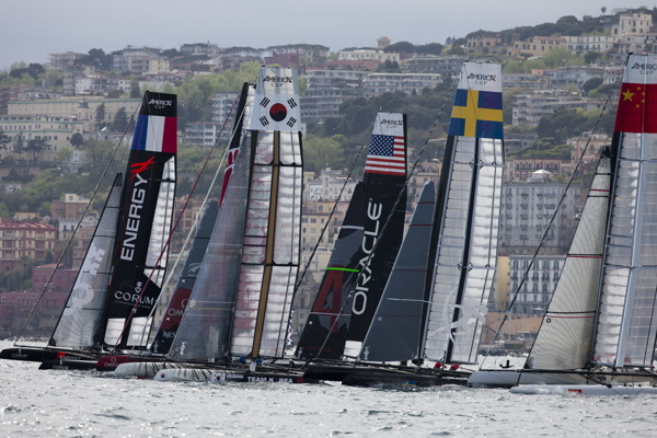 07/04/2012 - Naples (ITA) - 34th America's Cup - America's Cup World Series Naples 2012 - Photocredit:  Gilles Martin-Raget
