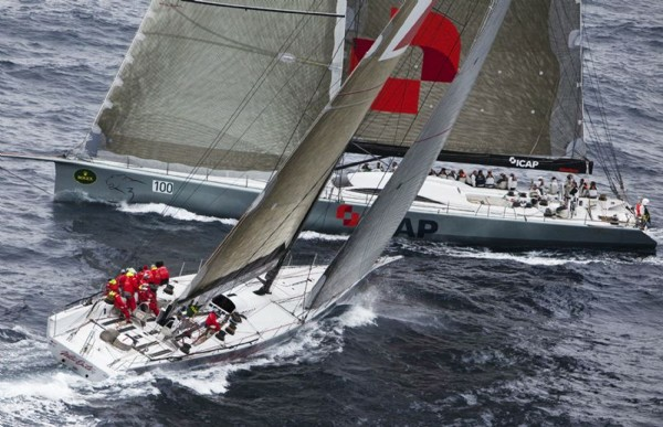 ICAP LEOPARD and WILD OATS XI   - Photo credit: Rolex /   Daniel Forster