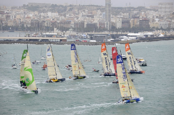 VOR08 - Start Alicante - Photocopyright: Richard Tomplin - VOR