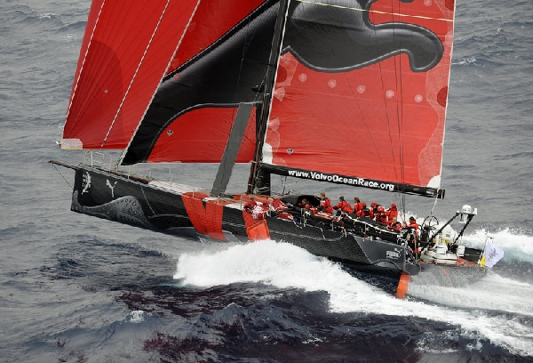 VOR 08 - Puma in Alicante,  Photocopyright: Rick Tomlinson / Volvo Ocean Race