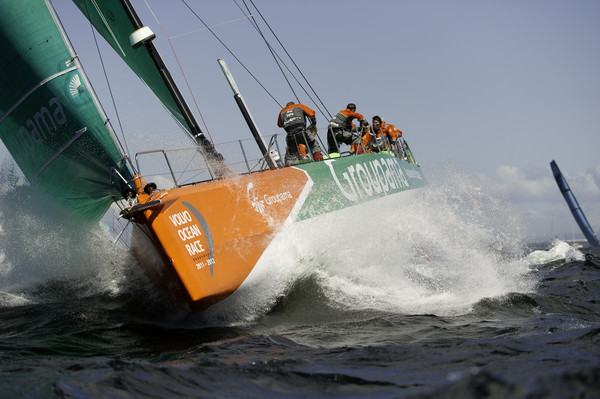 Groupama, skippered by Franck Cammas - Photo Credit: PAUL TODD/Volvo Ocean Race