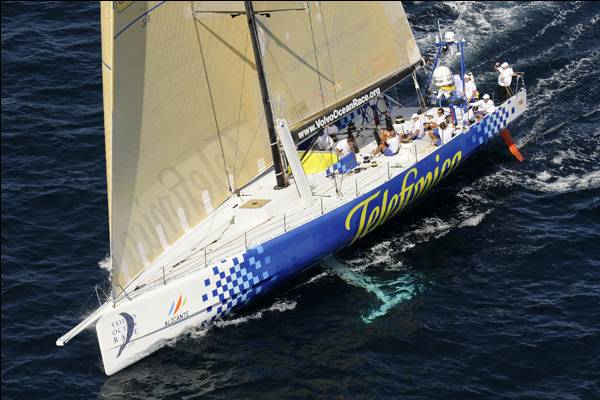 VOR08-Start IPRA-Photocopyright: Rick Tomlinson/Volvo Ocean Race