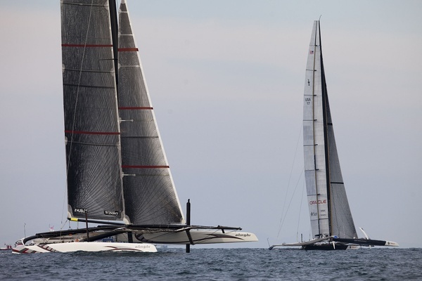 AC33 - Rennen2 - Alinghi 5 vs. USA17 - Photocopyright: BMW-Oracle Racing