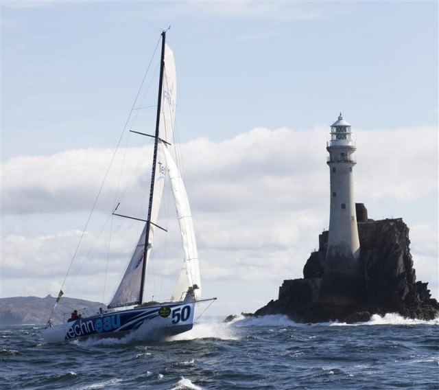 Fastnet Race 2011: Benoit Daval's TECHNEAU am Fastnet Race - Photo By: Rolex / Daniel Forster
