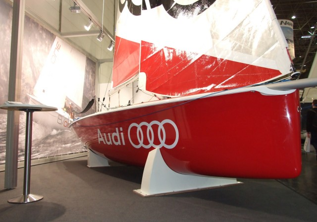 boot Düsseldorf 2013 - B/one - Audi - Photo © SailingAnarchy.de