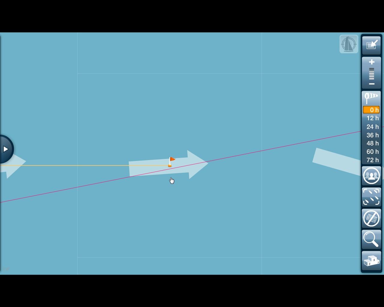 Vendee Globe - Virtual Race - Pazifik Gate verpasst