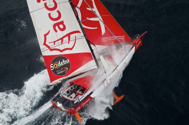 Acciona 100% Ecopowered - Photo_JESUS RENEDO / DPPI / VENDEE GLOBE