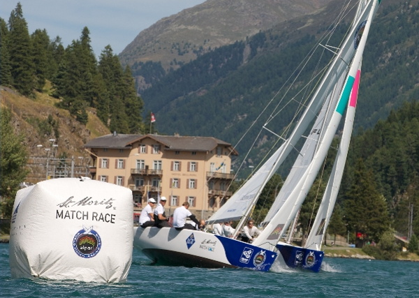 St Moritz Match Race, Stage 6 of the Alpari World Match Racing Tour 2012 © Andy Carter / AWMRT