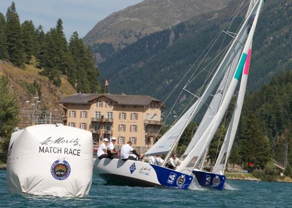 St Moritz Match Race, Stage 6 of the Alpari World Match Racing Tour 2012 © Andy Carter / AWMRT