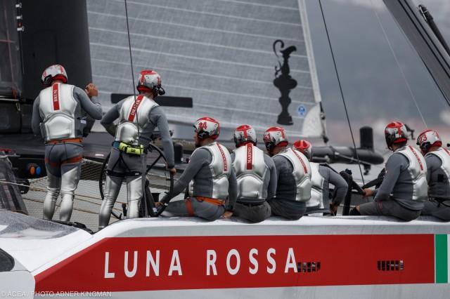 LVC 2013 - LUNA ROSSA - R1 - Photocopyright: ACEA / Abner Kingman