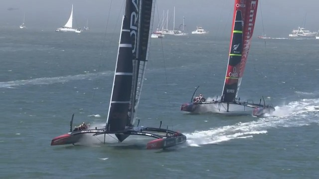 34. Americas Cup - WF 4 - Photo: Screenshot ACEA