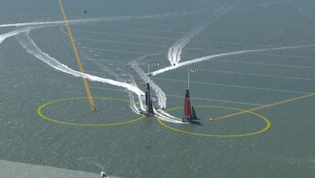 34. Americas Cup - WF 1 - Photo: Screenshot ACEM