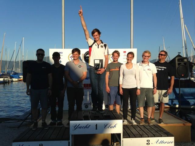 Europameisterschaft Musto Skiff 2013 - Photocopyright: Sport Consult, Gert Schmidleitner