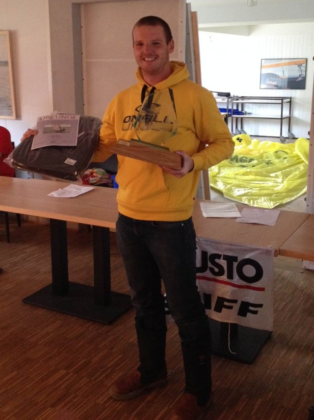 Pauzl Dijkstra Gewinner Bestenermittlung MPS Steinhude 2013 - Photo: Mustoskiff KV