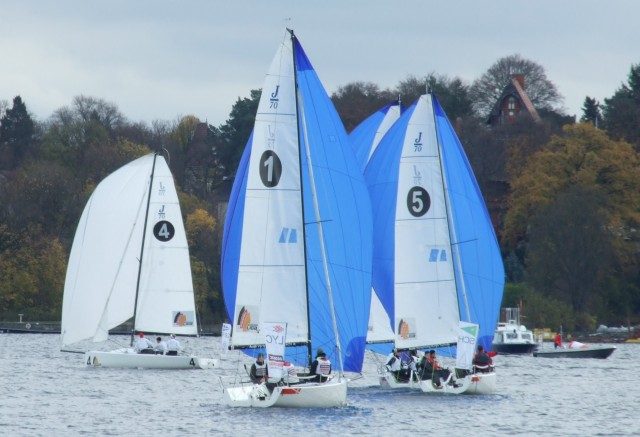 SBL-B13-DW-Feld - SEGEL-BUNDESLIGA - Finale Berlin 2013 - Photocopyright: SailingAnarchy.de