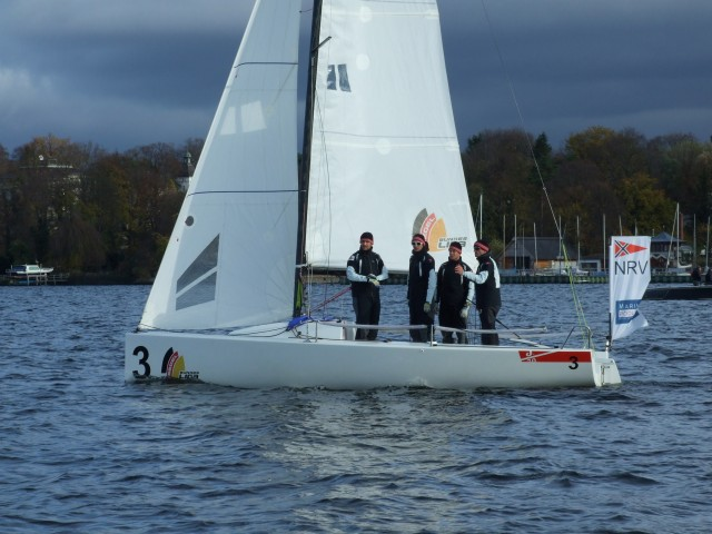 SBL-B13-Team_NRV - SEGEL-BUNDESLIGA - Sieger 2013 NRV TEAM - Photocopyright: SailingAnarchy.de