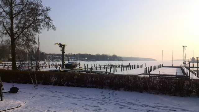 Schnee & Eis im SC Gothia in Berlin - Photo © SailingAnarchy.de