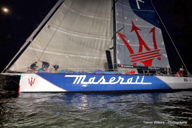 Maserati - Finish Cap Town to Rio 2014 - Photo © Trevor Wilkins Photography