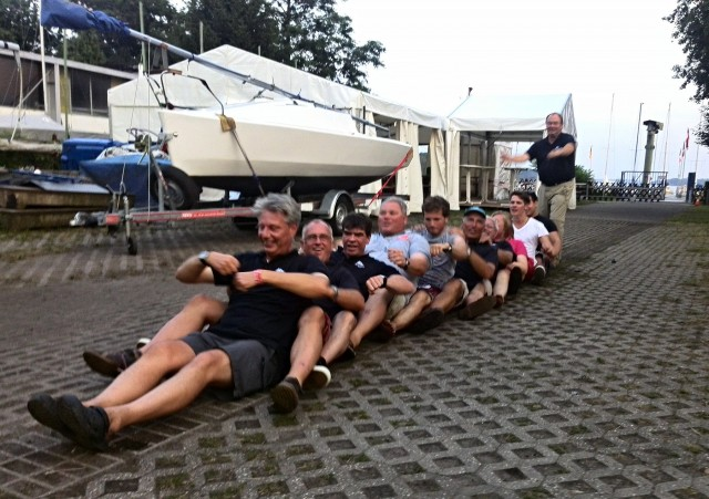 Micro Cupper WM 2014 - The work is done - Photo © SailingAnarchy.de