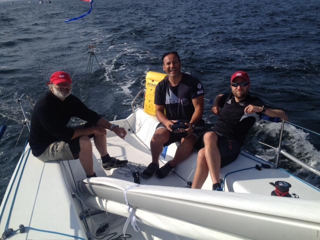 ORCi Worlds 2014 Kiel - Kleines Boot, viel Spass! - Photo © Huhn