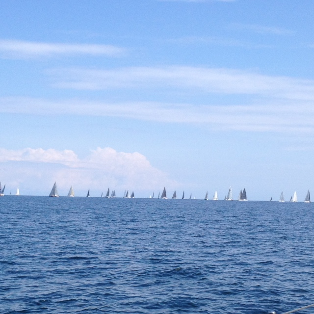 ORCi Worlds 2014 Kiel - Langstrecke - Feld von hinten - Photo © Huhn