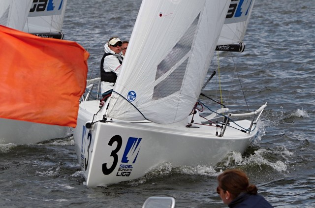 Segel Bundesliga 2014 - VSaW Berlin - Enge Starts 2 - Photo © SailingAnarchy.de