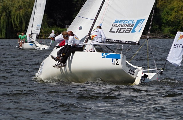 Segel Bundesliga 2014 - VSaW Berlin - Kreuz - Photo © SailingAnarchy.de