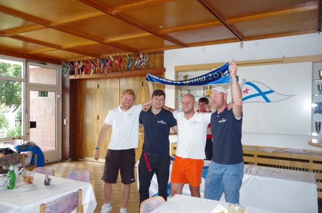 Sieger SailingAnarchy-Cup 2014 - Michał Korneszczuk & Crew - 14. September - Photo © SailingAnarchy.de