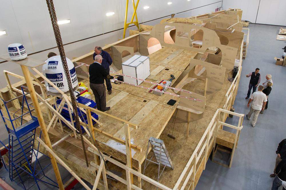 Vom Holzkonzept zur fertigen Yacht: Viele Ideen bei Green Marine 2012 in England