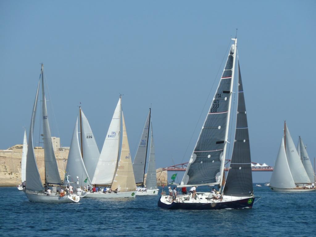 Endlich Wind: Im Hafen auf der Kreuz