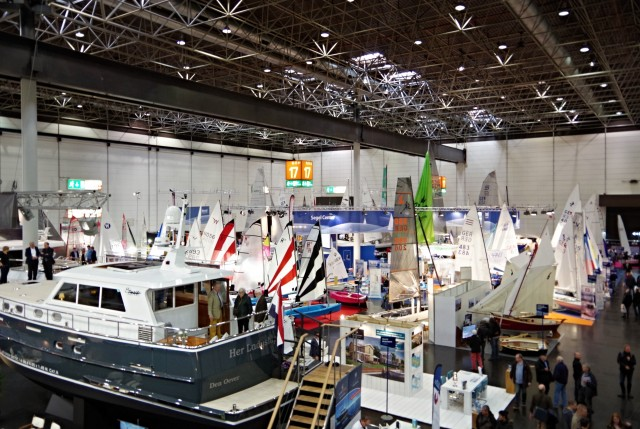 boot Düsseldorf 2015 - Halle 17 - Jollen + Motorboote - Photo © SailingAnarchy.de