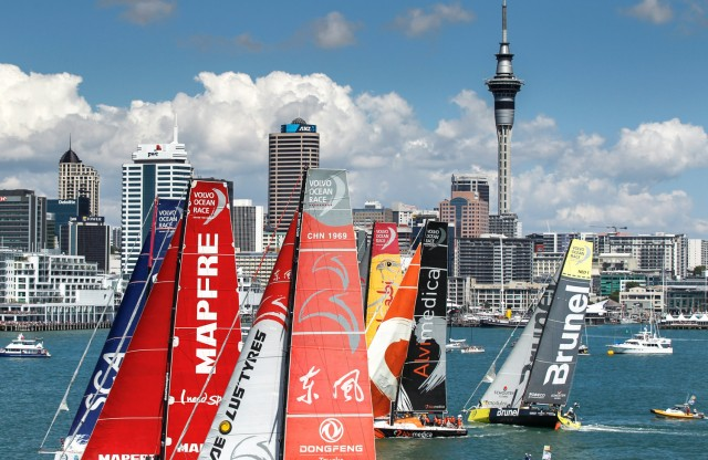 New Zealand Herald In-Port-Race Auckland - 14-03-2015 Photocredit: Ainhoa Sanchez/Volvo Ocean Race