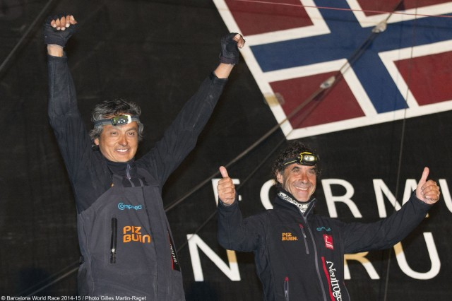 Altadill + Munoz - Neutrogena Finish Second - Photo © Gilles Martin-Raget / BWR