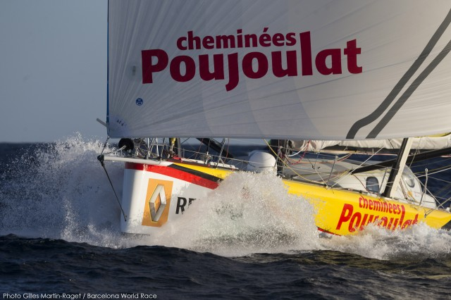 Cheminées Poujoulat (Bernard Stamm, Jean Le Cam) - Photo ©  Gilles Martin-Raget / BWR