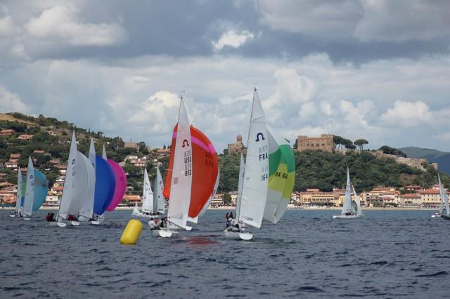 Soling WM 2015 in Castiglione della Pescaia - Photo: Veranstalter