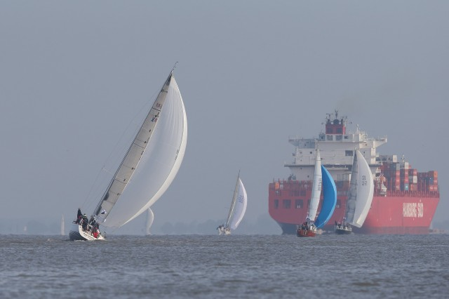 Nordseewoche 2015: Herausforderung Berufsschifffahrt. Foto: Hinrich Franck