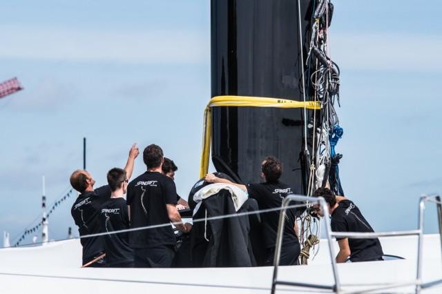 Spindrift 2 - Nach Refit Frühjahr 2015 - Photo © Eloi Stichelbaut I Spindrift racing