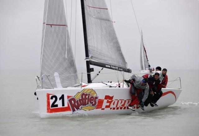 ORC Sportboat European Championship 2015 - Farr 25 - Hartes Hängen an der Kreuz