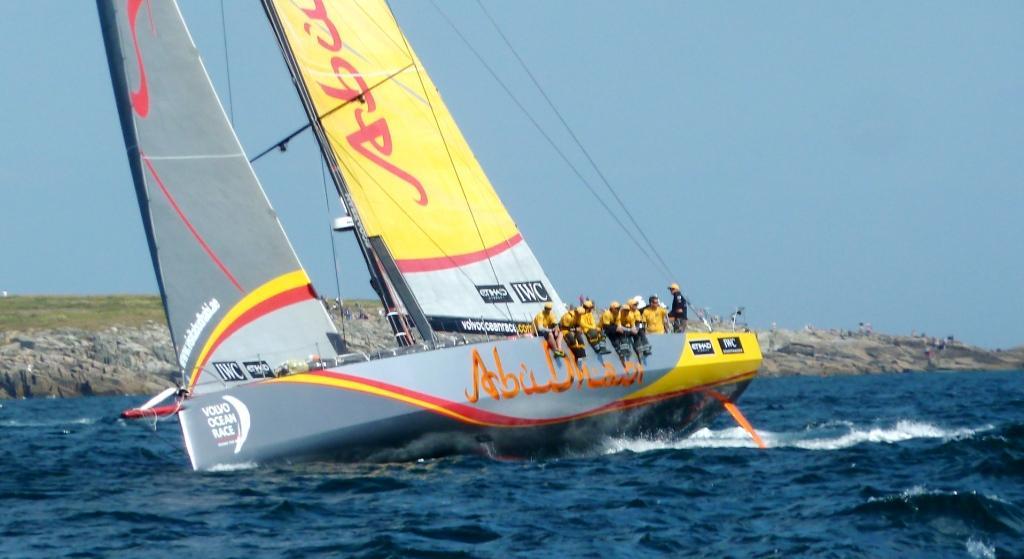Endlich Gesamtsieger: Beim seiner dritten Teilnahme gewinnt Abu Dhabi-Skipper Ian Walker (GBR) das Volvo Ocean Race