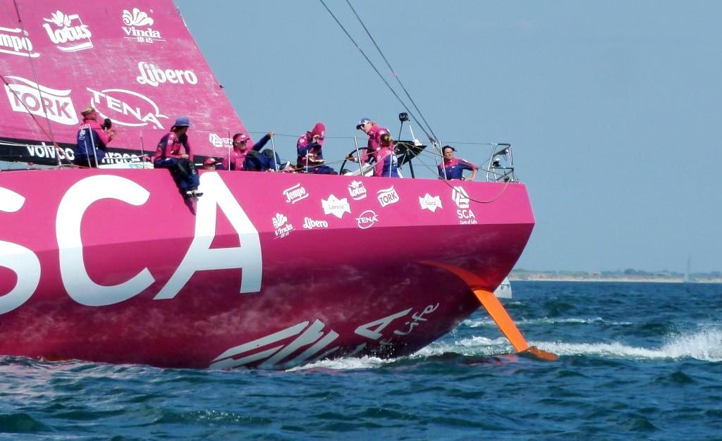 Zwei Inport-Rennen-Siege (Abu Dhabi und Auckland), ein Etappensieg (Lorient) und jede Mange Erfahrung sind die Ausbeute des Teams SCA