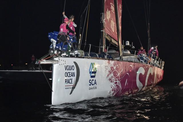 Team SCA gewinnt 8. Etappe von Lissabon nach Lorient - Photo © Ricardo Pinto / Volvo Ocean Race