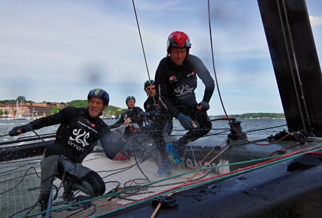 GC32 Kiel - Oman - Crewarbeit - Photo © SailingAnarchy.de 2015
