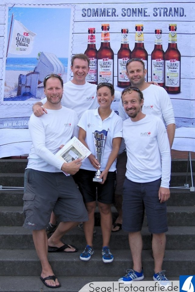 German Open Melges 24 - Stralsund 2015 - Gewinner PLATO - Photo © Sven Lamprecht / Segel-Fotografie.de