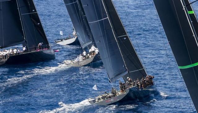 6 Yachten treten an bei der 2015 Rolex Maxi 72 World Championship vor Porto Cervo