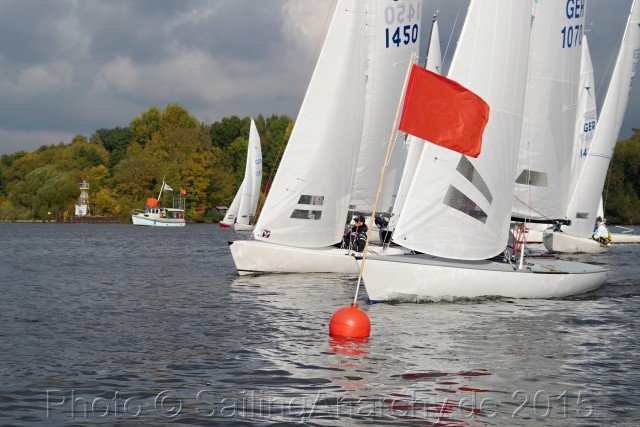 BM DYAS 2015 - Start WF 4 - SC Gothia e.V. - Photo © SailingAnarchy.de 2015