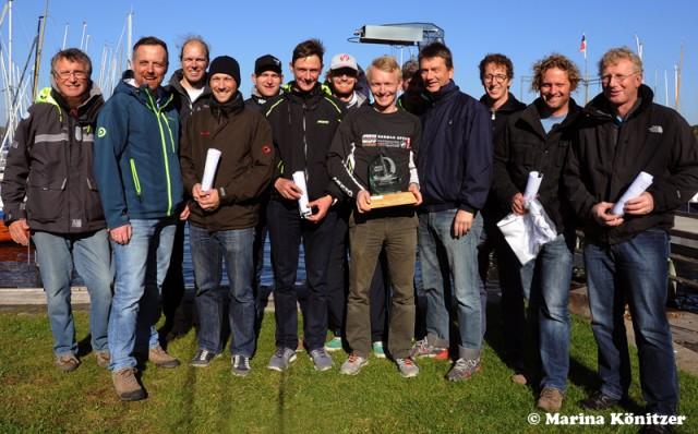 German Open Mustoskiff - Teilnehmer & Siegerehrung - Photo © Marina Könitzer